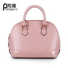 PONGWEE 6 Farbe frauen taschen handtaschen berühmte marken shell taschen damen hand nette frauen handtaschen taschen designer