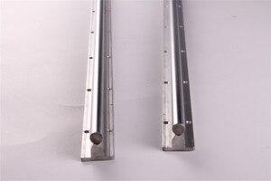 Image 3 - 2pcs SBR20 200 2000mm Linear Guide Rail SBR20 Linear Bearing Blocks for CNC parts 20mm Linear Rail