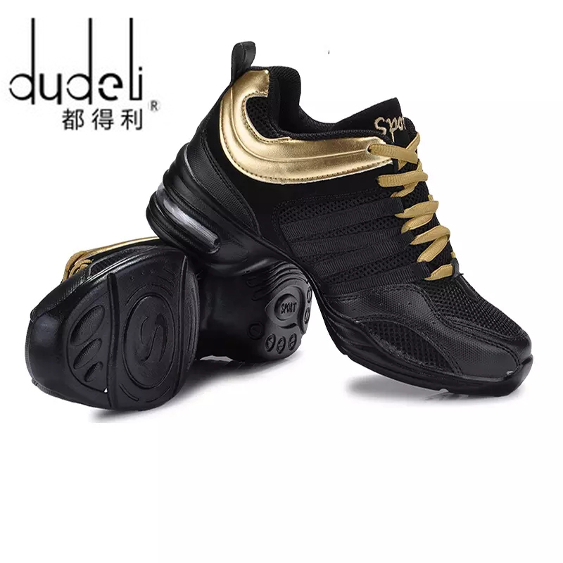 DUDELI Hot Sports Feature Soft Outsole Breath Dance Shoes Sneakers For Woman Practice Shoes Modern Dance Jazz Shoes Sneakers 42
