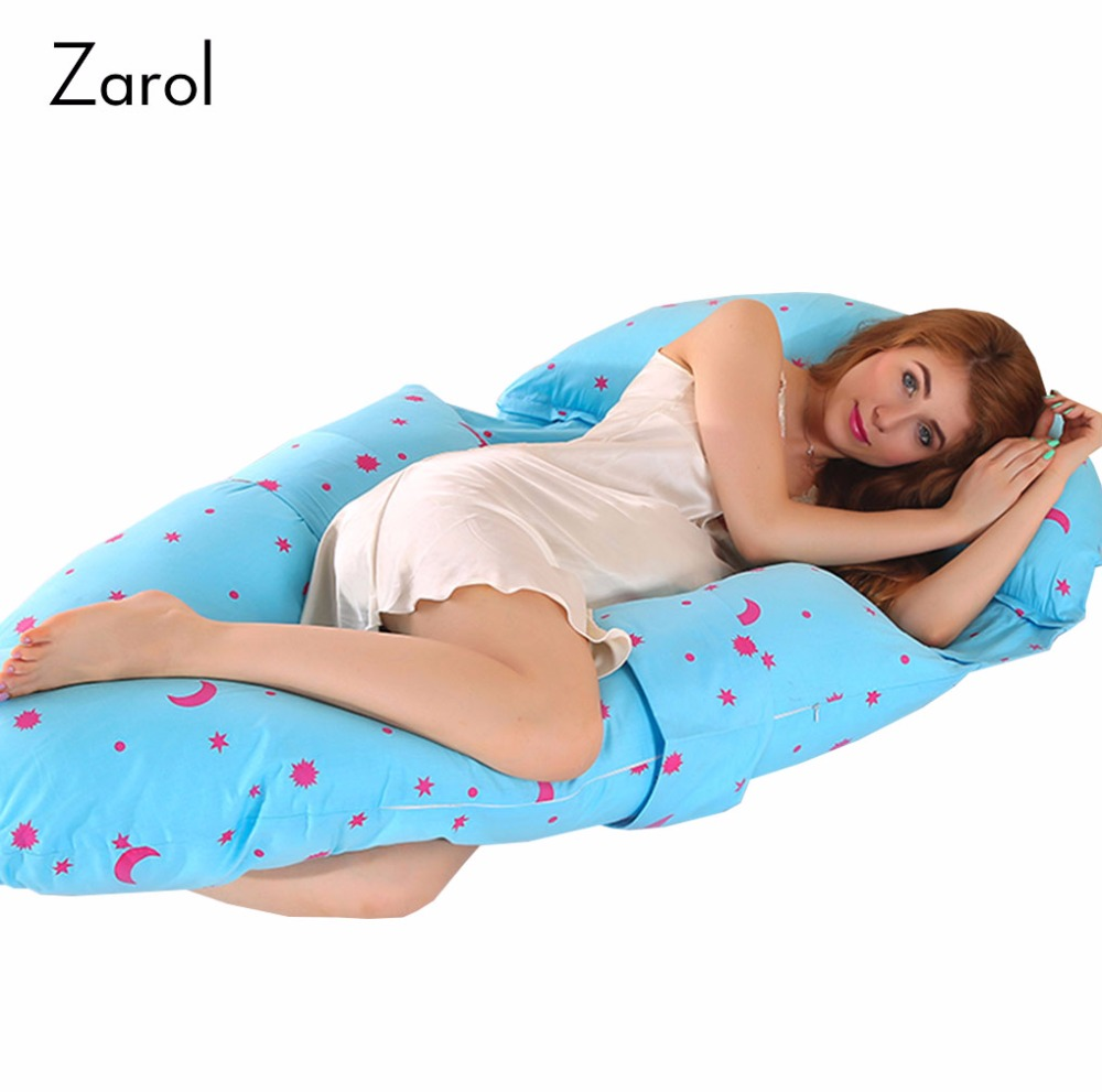 14 Styles Multifunction Body Pillow for Pregnant Women Cartoon Support Waist Pillows Side Sleeping Pillow for Pregnancy 140*80cm