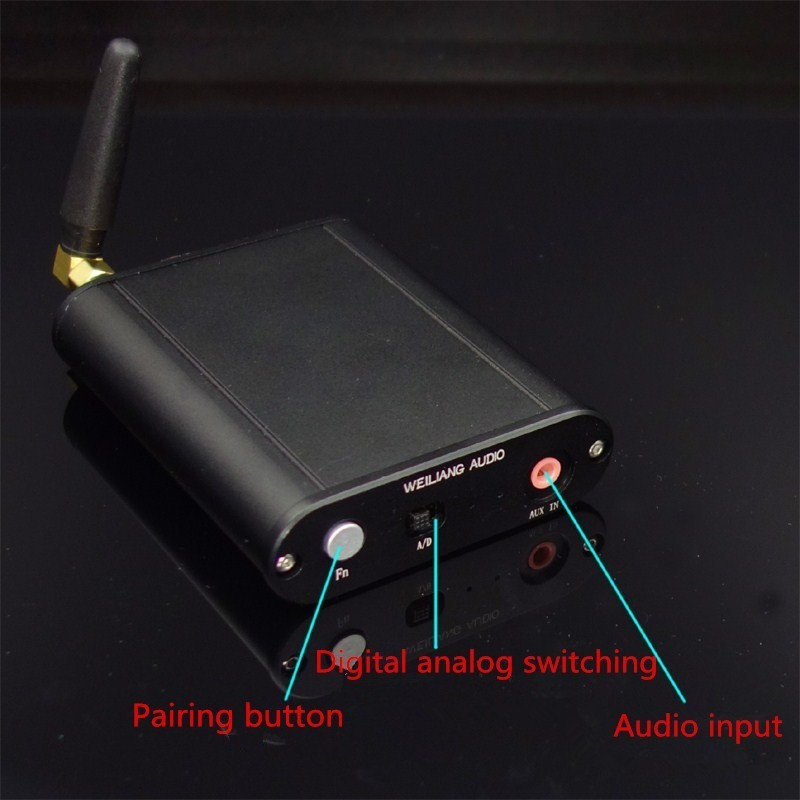 Csr8675 Bluetooth 5 0 Wireless Bluetooth Audio Transmitter Coaxial optical fiber analog input Lossless music Audio