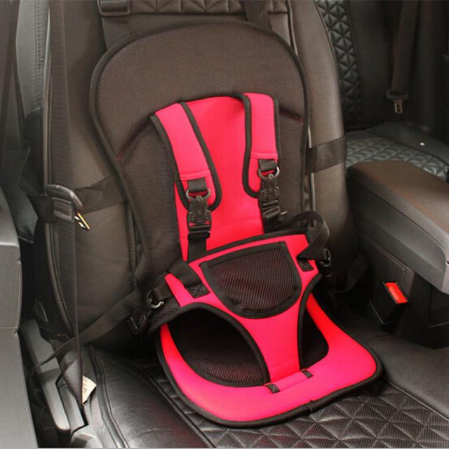 Sillita para niños de 9-18 kg de Coche de Bebé Portátiles Asiento de Seguridad Del Bebé Sillas de asiento de Coche de Seguridad Para Niños en el Coche Versión Actualizada engrosamiento