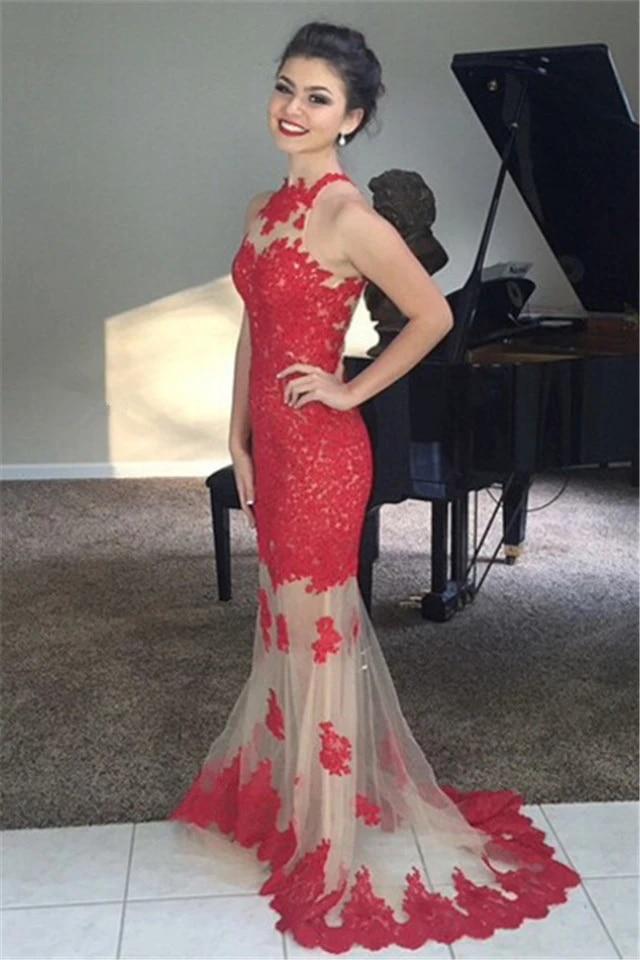 Sheer Skirt Junior Prom Dresses