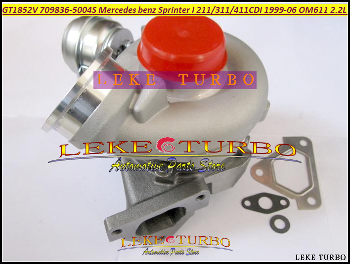 GT1852V 709836-5004S 709836-0001 709836 6110960899 Turbo For Mercedes Benz Sprinter I 211CDI 311CDI 411CDI 99- OM611 2.2L 141HP