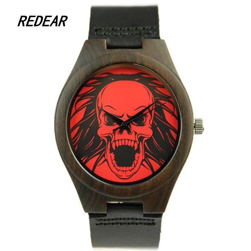 REDEAR1415 antique wood materials manufacturing men s font b watch b font quartz font b watch