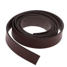 2m Leather Strip Handmade DIY Accessories Durable Belt Bag Handles Leather Strips Bags Straps for Women Handbag Shoulder bag