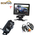 """BEMTOO FreeShipping, Angle IR Night Vision Parking Camera+7"""" TFT LCD Monitor+2.4G Wireless Adapter with a trigger line"""