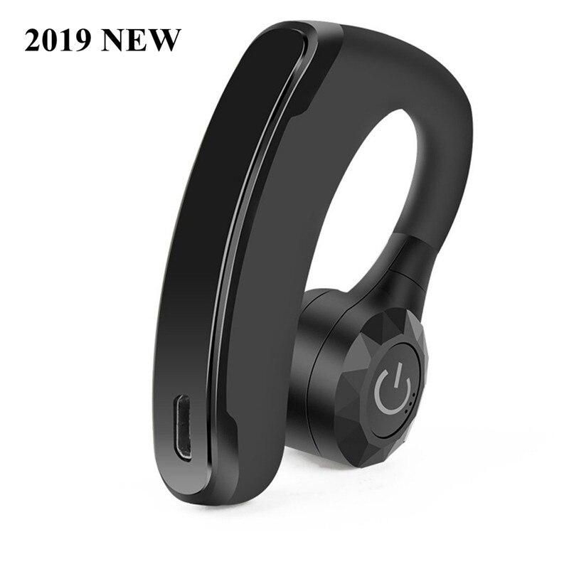 2019 NOVO fone de Ouvido Bluetooth Fone De Ouvido fone de Ouvido 160 mah da bateria do Fone de Ouvido com cancelamento de ruído Fones de Ouvido bluetooth Sem Fio do fone de ouvido