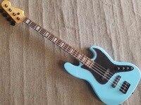 2018 NEW Custom High Quality Music Man bass guitar 4 String Reflex Ernie ball Electric Guitar In Blue,Free shipping