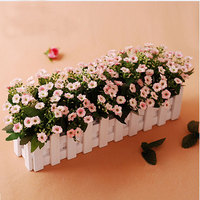 Fence Artificial Flower Mantianxing Coffee Table Windowsillxia Bowyer