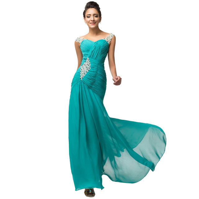 Popular Turquoise Evening Gowns-Buy Cheap Turquoise Evening Gowns ...