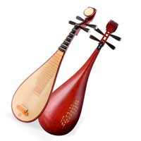 Professional Chinese lute Pipa rosewood Pi pa National Music Instrument pipa with full Pipa accessories String Instrument Pipa