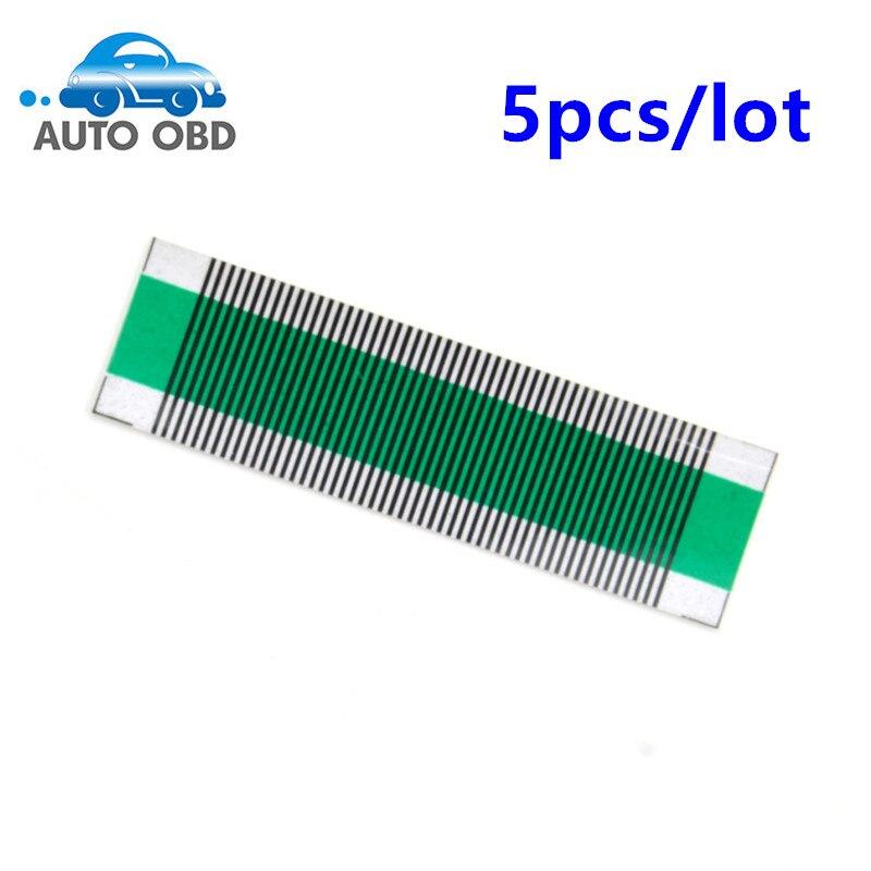 Prix pour 5 pcs/lot Connecteur Plat LCD pour Saab 9-5 ACC Affichage Ruban Câble Climatisation Automatique LCD Pixel D'affichage Outil de réparation