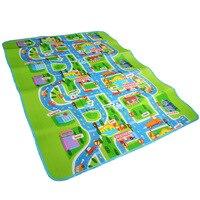 Esteira do Jogo do Tráfego rodoviário-Crianças Tapete Playmat Tapete Vida Da Cidade Grande Para Jogar Com Os Carros e Brinquedos-Play, aprender e Se Divertir Com Segurança