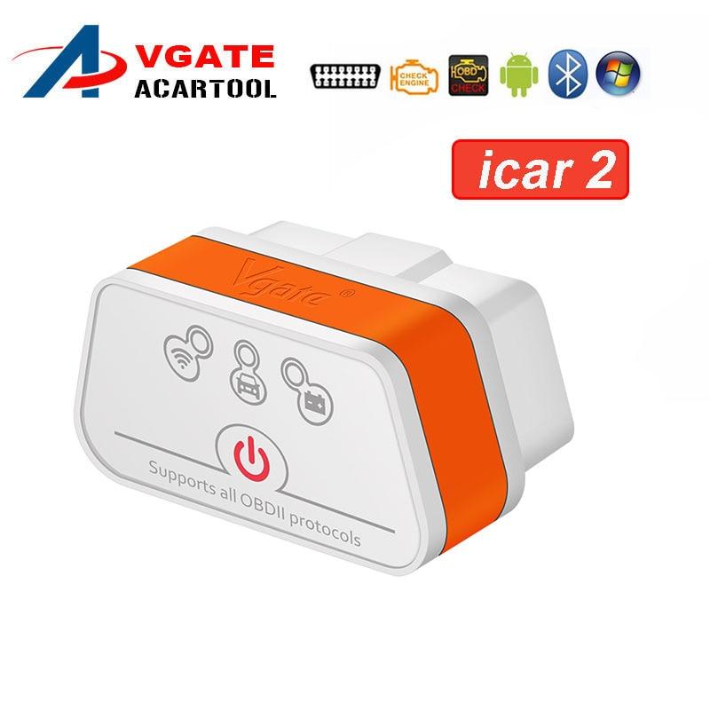 Android Torque Vgate Scan ELM327 V2.1 Bluetooth OBD2 Car Diagnostic Scanner Tool