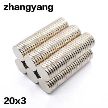 10/50/100pcs  Magnetic imanes 20 x 3mm Mini Super Strong Rare Earth Fridge Permanet Magnet Small Round Neodymium Magnet - DISCOUNT ITEM  54% OFF All Category