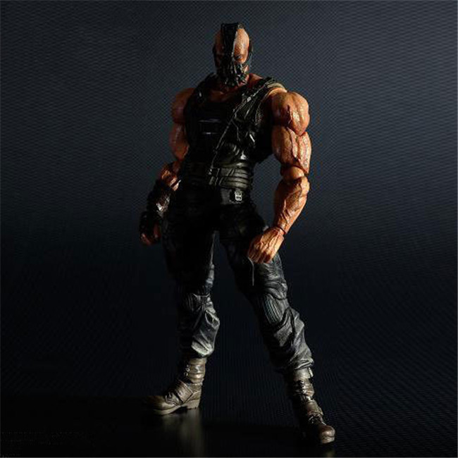 Huong Movie 23CM NO.02 Batman Bane The Dark Knight Rises PVC Action Figure Model Toy Collection GiftHuong Movie 23CM NO.02 Batman Bane The Dark Knight Rises PVC Action Figure Model Toy Collection Gift
