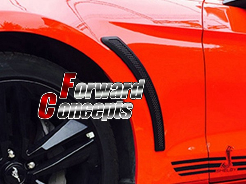 FOR 15-16 Mustang guards fender vents PP a pair fender mustang combo footswitch