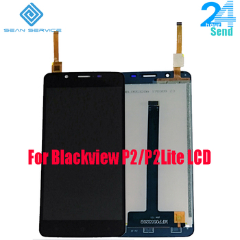 цена на For Blackview P2/P2 Lite Original LCD Display +TP Touch Screen Digitizer Assembly 5.5
