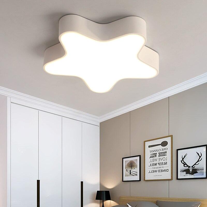 Modern Ceiling Lamp LED Star Ceiling Lights Cartoon Child Kids Bedroom Lamp Home Decor suspension luminaire