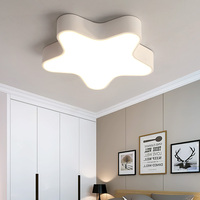Modern Star Cartoon Child Kids LED Ceiling Lamp Baby Girl kids Bedroom Ceiling Lamp Home Decor luminaire Lighting fixture