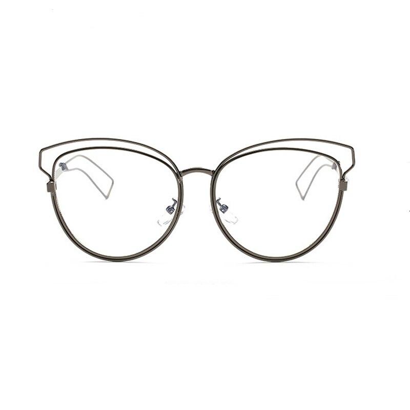 9f8d8e956b6 Satın Al WJ121 Kedi Göz Göz Vintage Gözlük Çerçeve Kadınlar Temizle ...
