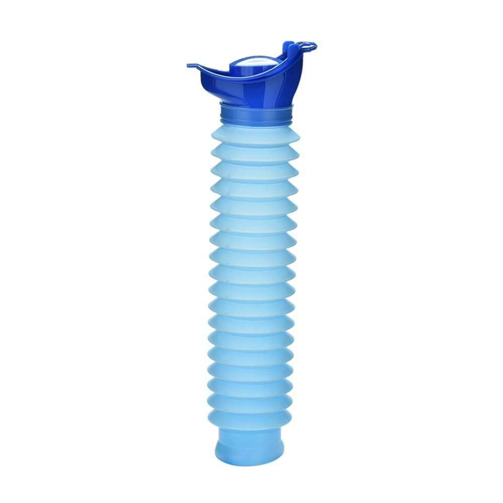 Urinación de viaje portátil para el baño de urinario del coche, para Adultos bebé orinal plástico niños inodoro a prueba de fugas de alta capacidad