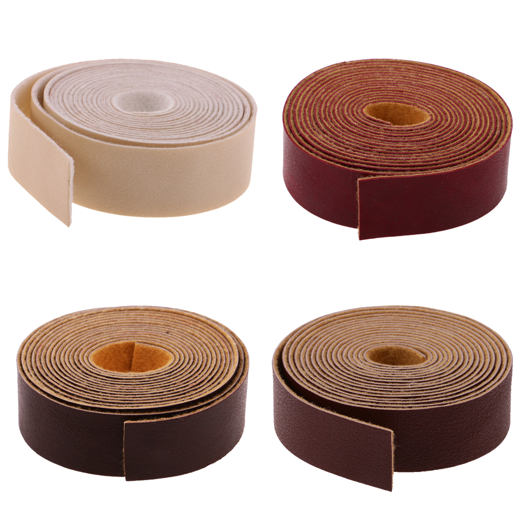 10 Meters Long DIY Leather Crafts Straps Strips 2cm Wide ...