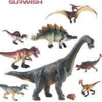 Surwish 8 Unids/set Dinosaur Mixta Juguetes Figuras Playset Regalo Del Partido Del Festival Mejor Regalo de Año Nuevo-Color Al Azar