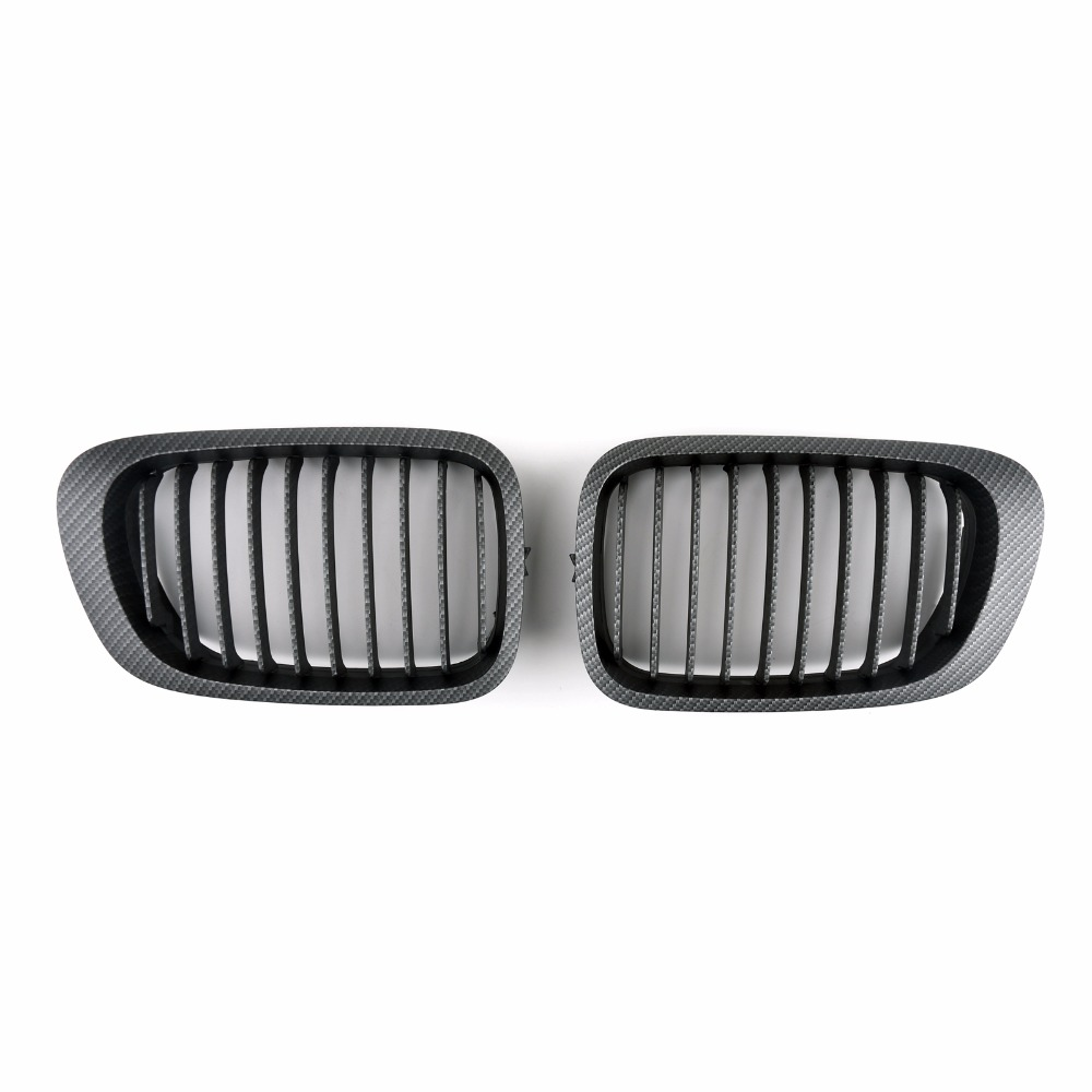 Areyourshop Car Front Kidney Grille Grill For BMW E46 3 Series 2 Door 1998-2001 ABS Plastic High Quality Car Grill Cover Parts 3 series carbon front bumper racing grill grills for bmw f30 f31 standard sport 12 16 320i 325i 330i 340i non m3 style car cover