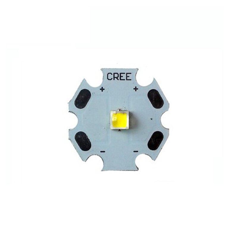 5X CREE Xlamp XPL 3535SMD série de alta densidade & intensidade LEDs chip de LED com 20mm de alumínio PCB frete grátis