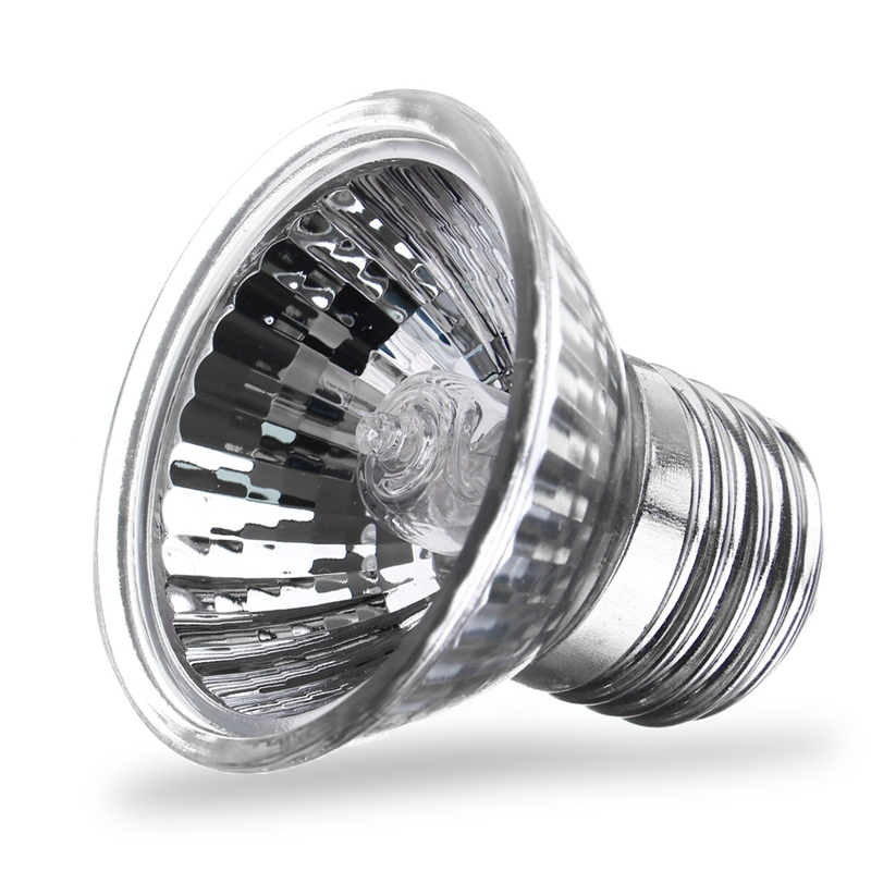 LED Light Bulb 25/40/50/60/75W LED Lamp Bulb E27 220V UVA UVB Pet Heat Lamp Reptile Pet Terrarium Brooder Warm White