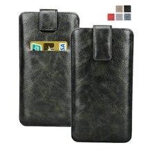 Для iPhone 7 Plus, premium кожаный чехол, Чехол слота подтягивающие ремешок для Huawei Mate 7/8/google nexus 6 P Galaxy S8 +