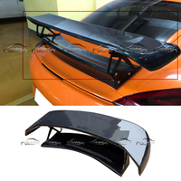 TA Style Car Styling carbon Fiber Rear Trunk Wing Spoiler for Porsche 981