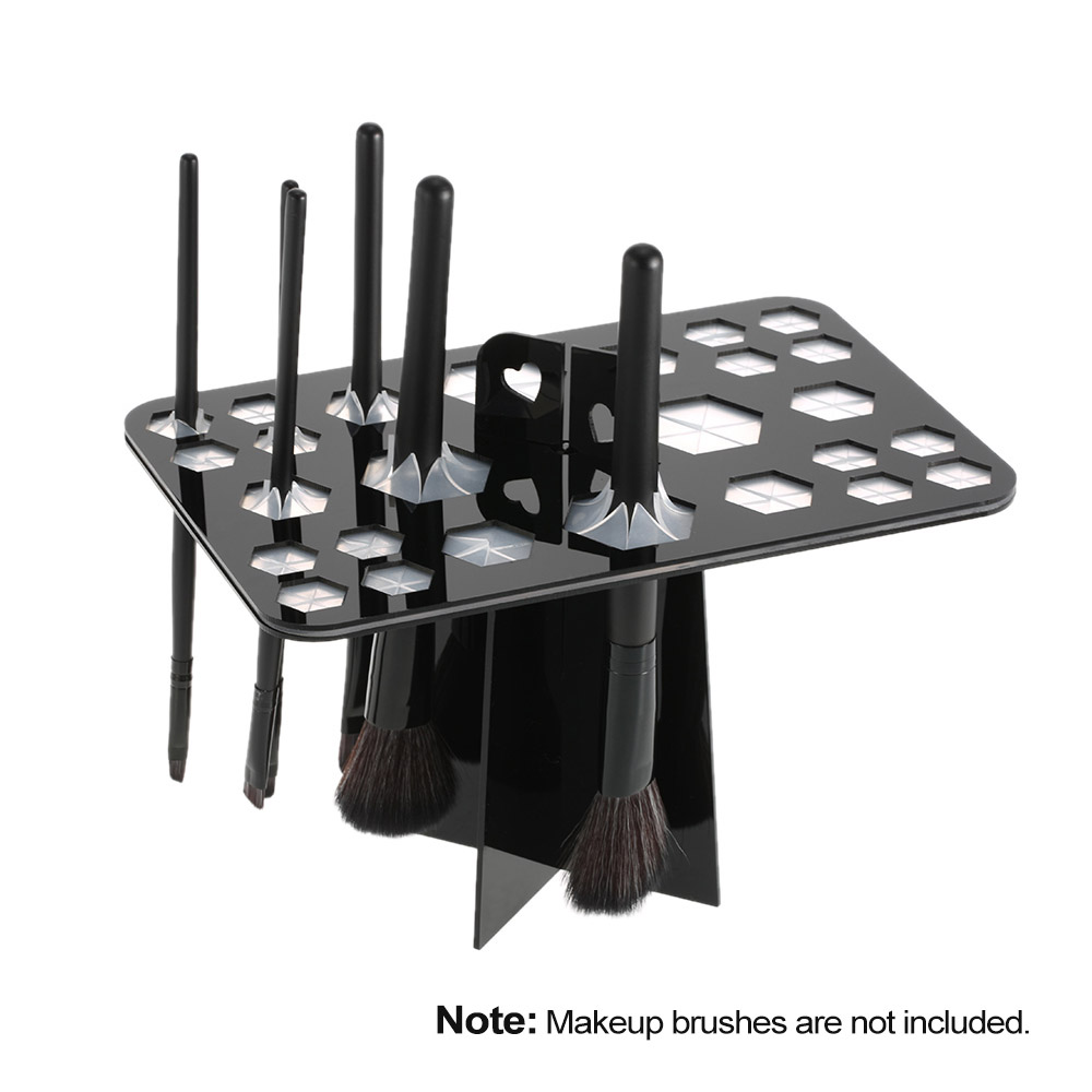 Makeup Brush Holder Make Up Brushes Air Drying Rack Organizer Shelf Tree Brushes Organizer Cosmetic Dryer Stand Storage Tool цена