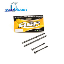 HSP RGT RACING SPARE PART CAR ACCESSORIES 68131 DRIVE SHAFT SET OF 1/10 ELECTRIC POWER 4X4 OFF ROAD ROCK CRUISIER 136100