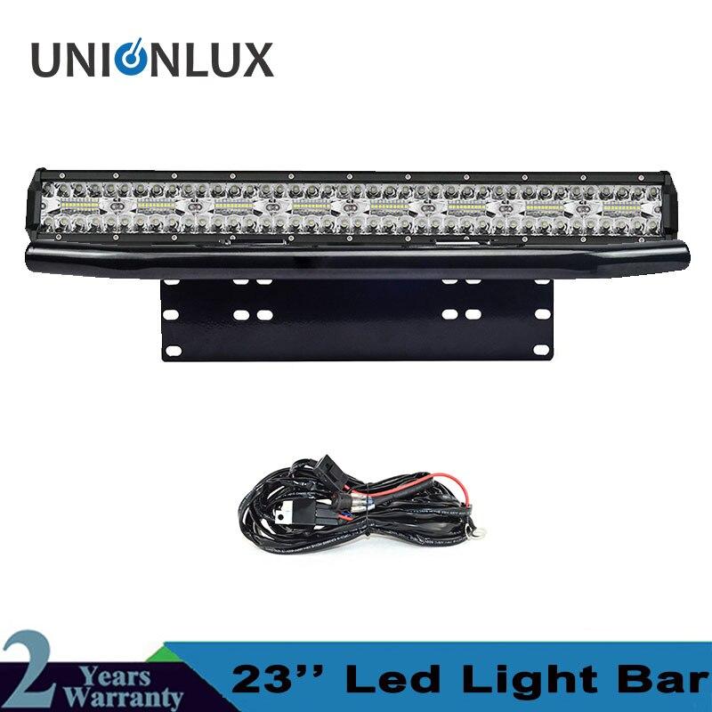 8D Triple Row Offroad LED Light Bar 23