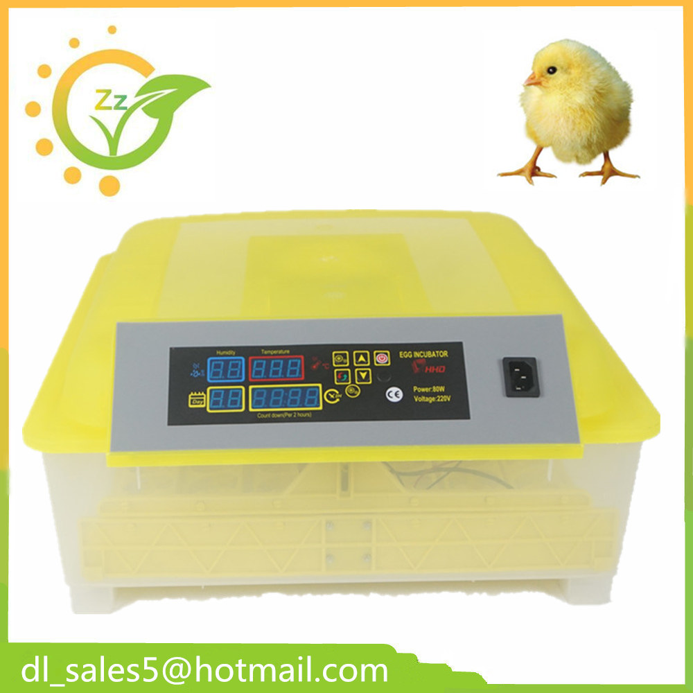 Practical Small Egg Brooder  Incubator automatic  48 Temperature Controller Mini Poultry Hatchery  machine CE Approved
