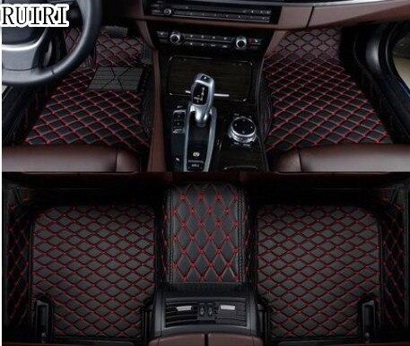 Высокое качество! Высокое качество! специальные коврики для Mercedes Benz C 200 250 260 300 W204 2013 2007 износостойкая ковры, Бесплатная доставка