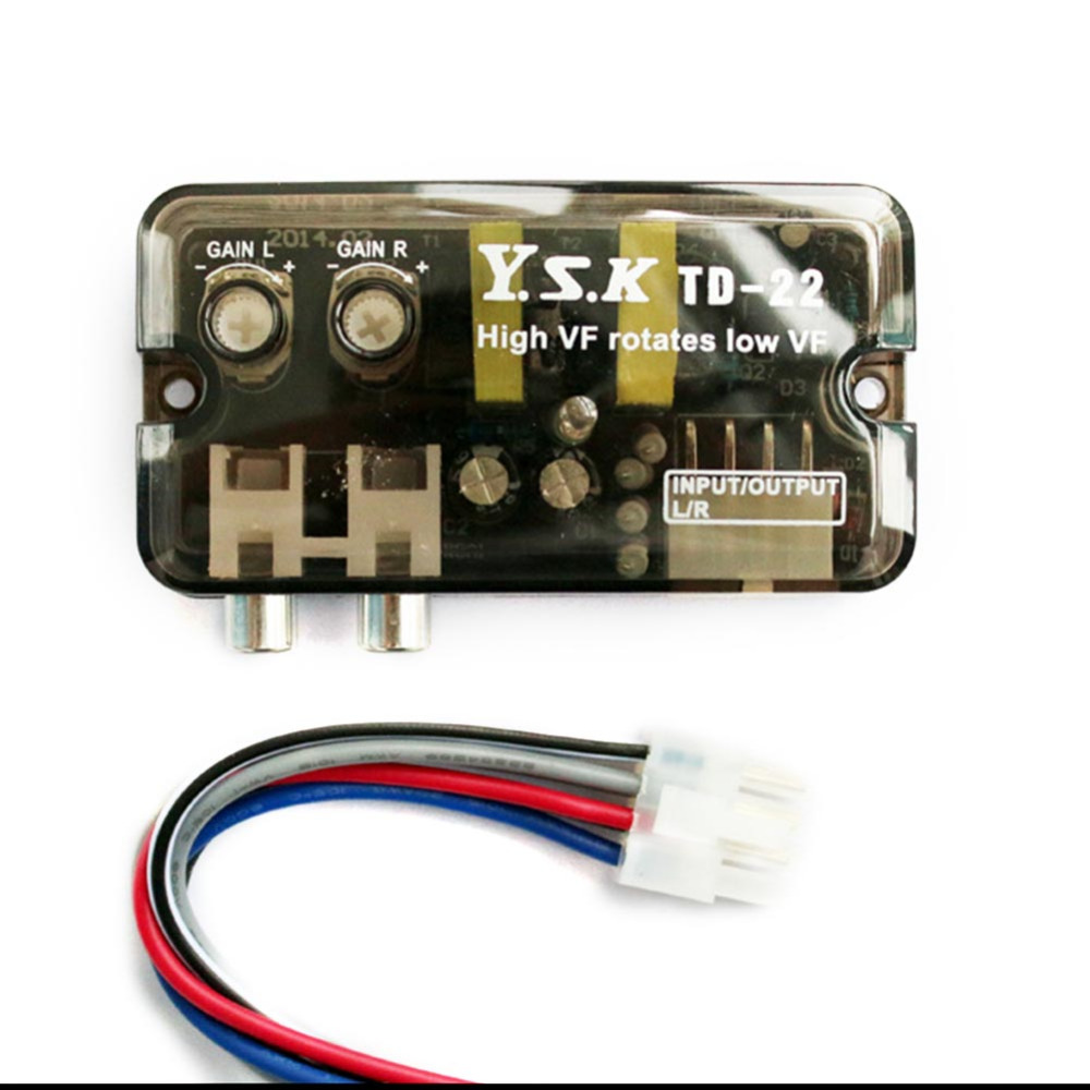Low Output Cable : Car automobiles high to low impedance converter adapter