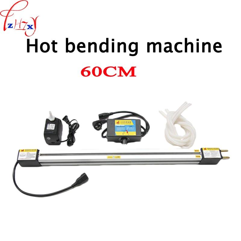 1set 23 '' (60cm) akril melegen hajlító gép Plexi üveg PVC műanyag táblák Hajlító eszköz Reklámtáblák és világító doboz