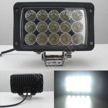 45 W Wodoodporna Lampa LED Bar Offroad Samochód Led-oświetlenie robocze z Super jasnych Diod Led do Motocykla/Ciągnik/Łódź/SUV/ATV najlepszy