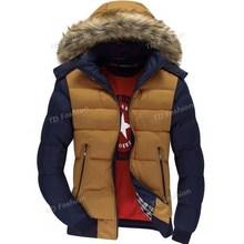 2016 New men winter jacket Double zipper pocket thickened parka men Fur hooded down jacket men's winter coat Plus Size XXXL