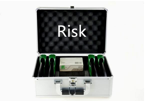 Risk - Staple Gun,Staple Gun Trick,illusions,Stage,Fantastic,Party Magic, Mentalism Magic Props, Accessories risk assessment