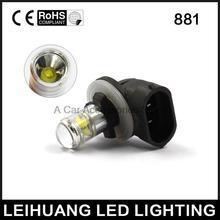 Beyaz Yüksek Güç SMD 881 H27 LED Sis Sürüş Ampuller 12 V-24 V 1200LM