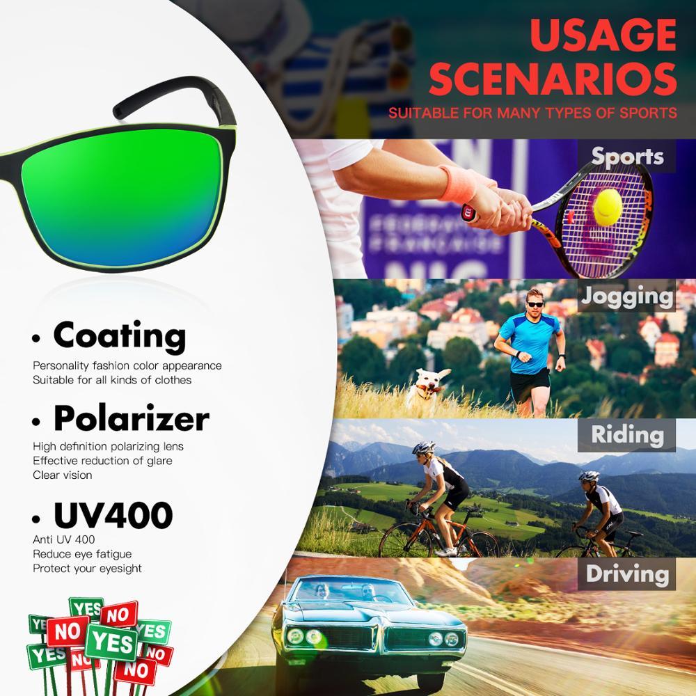 f7e1c44ec2 Deportes polarizadas Camo gafas de sol de gafas de los hombres al aire  libre de las