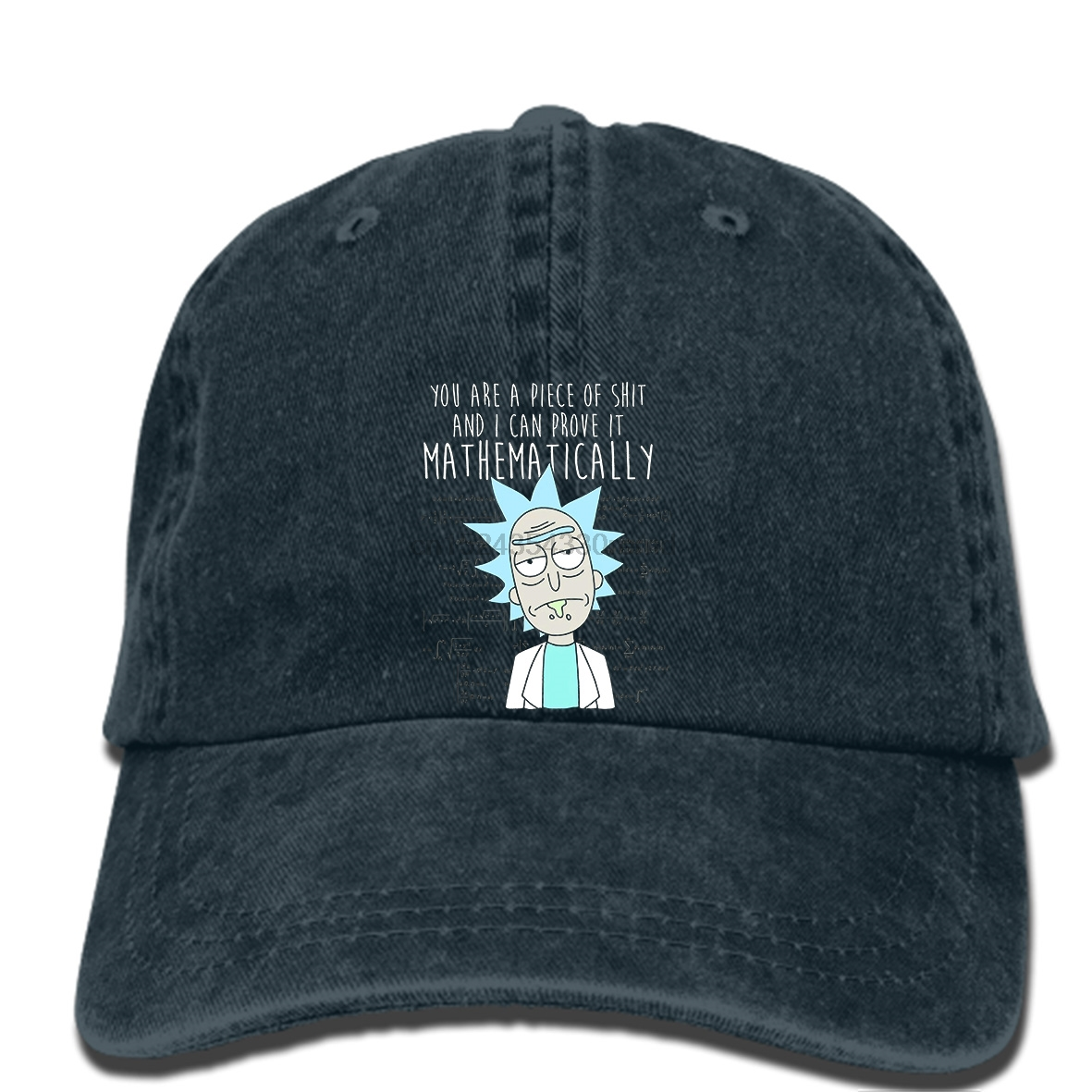 a24dfc246 hip hop Baseball caps Ricka And Morty Funny hat Man Woman New Anime Style  3D Homme