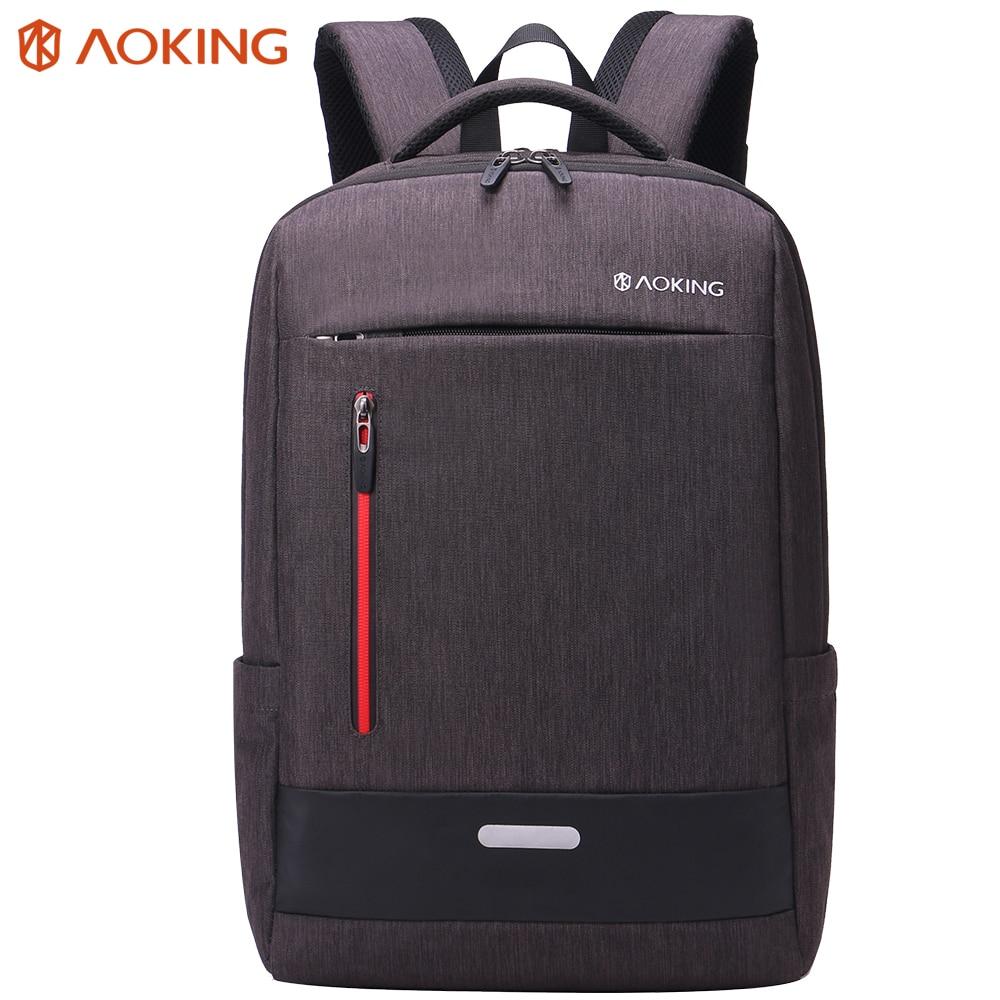 Aoking стильный унисекс нейлон для мужчин рюкзак сумка бренд дюймов 14,1 дюймов ноутбука тетрадь Mochila для водонепроница Back Pack ранцы
