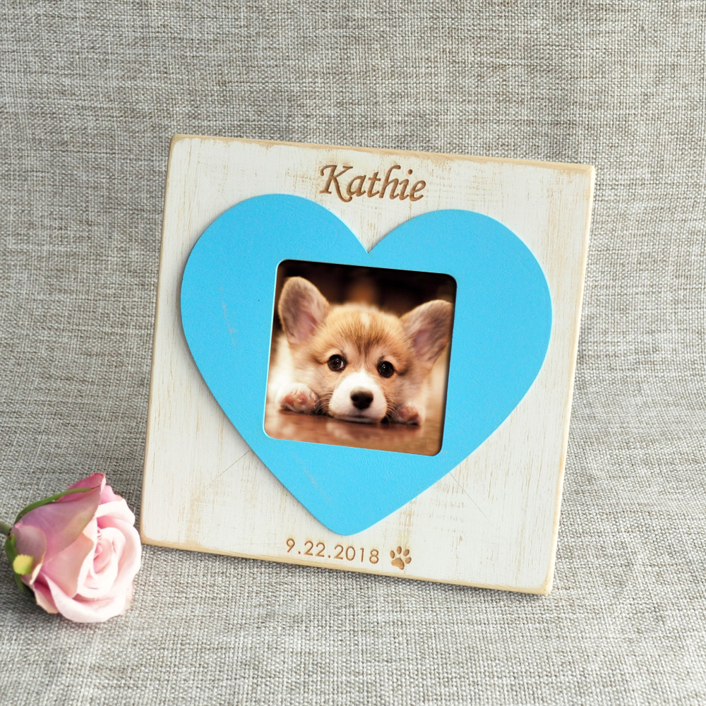 Personalized Dog Picture Frame New Dog Gift Puppy Photo Frame ...