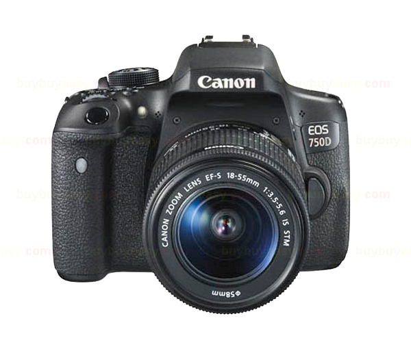 Canon EOS 750D / T6i DSLR Camera Body & EF-S 18-55mm IS STM Lens Kit canon eos 700d kit ef s 18 135 is stm